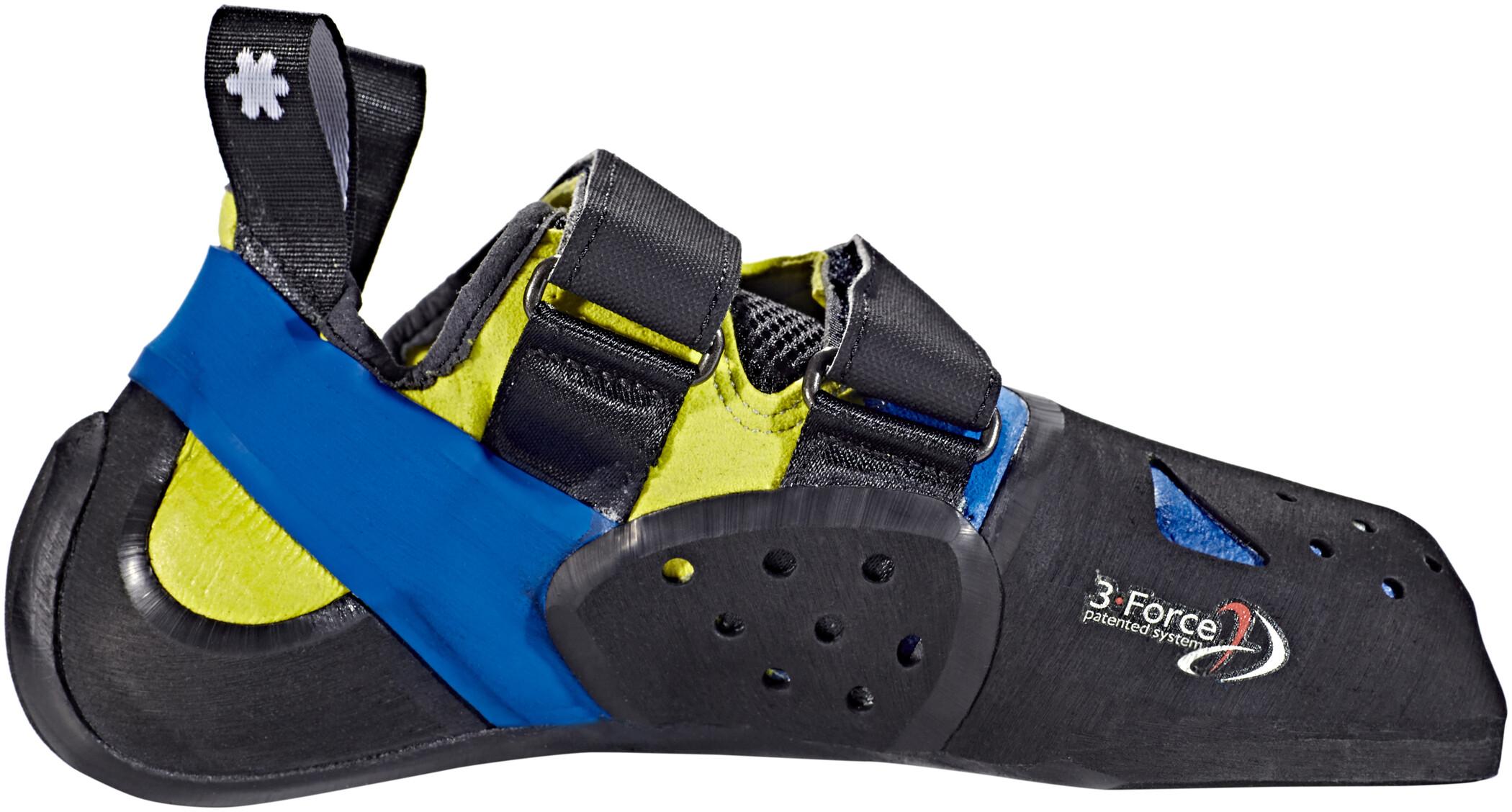 Ocun Ozone Plus Chaussures D Escalade Bleu Noir Sur Campz Fr